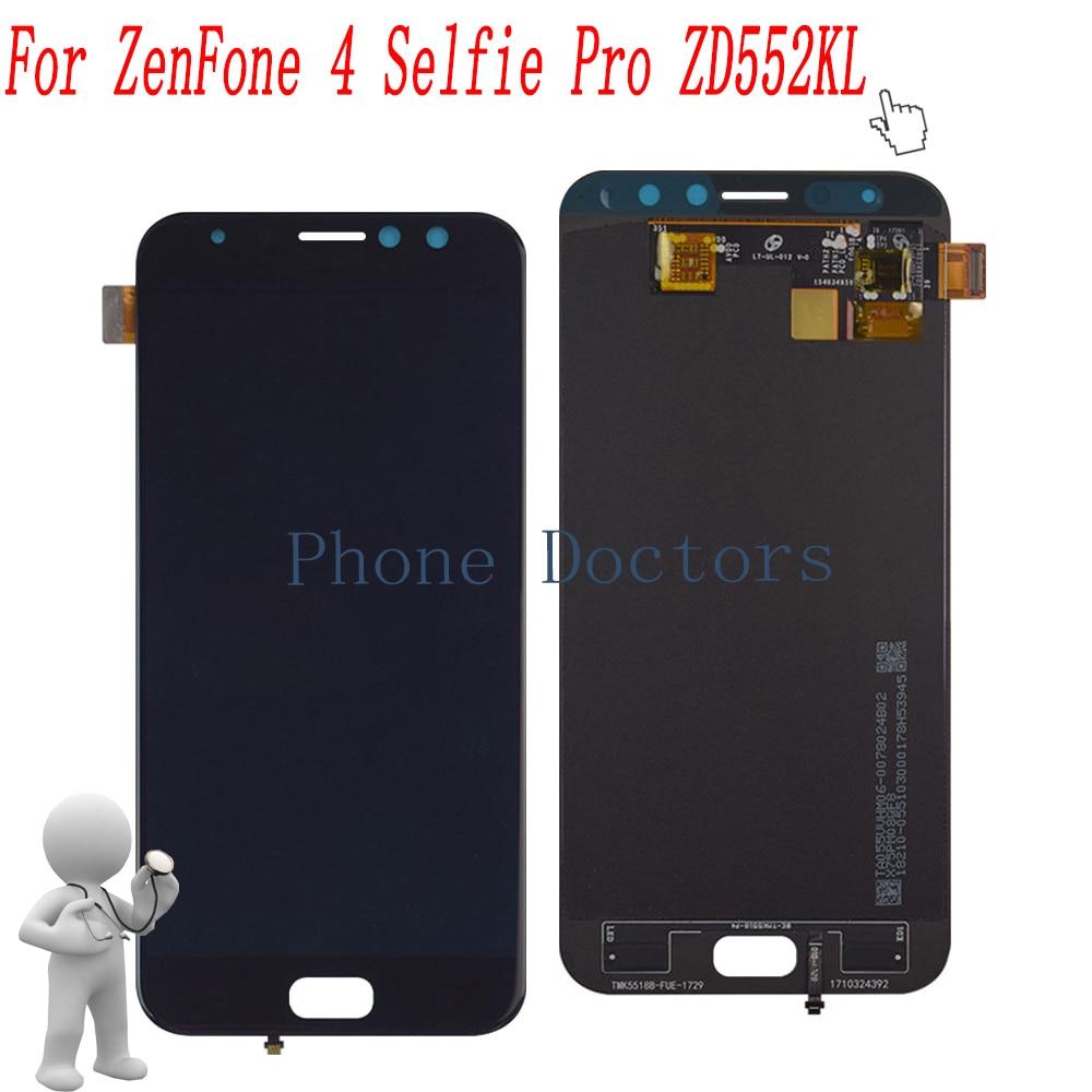 5.5 inch Full LCD DIsplay+Touch Screen Digitizer Assembly For Asus ZenFone 4 Selfie Pro ZD552KL Z01MD Z01MDA5.5 inch Full LCD DIsplay+Touch Screen Digitizer Assembly For Asus ZenFone 4 Selfie Pro ZD552KL Z01MD Z01MDA