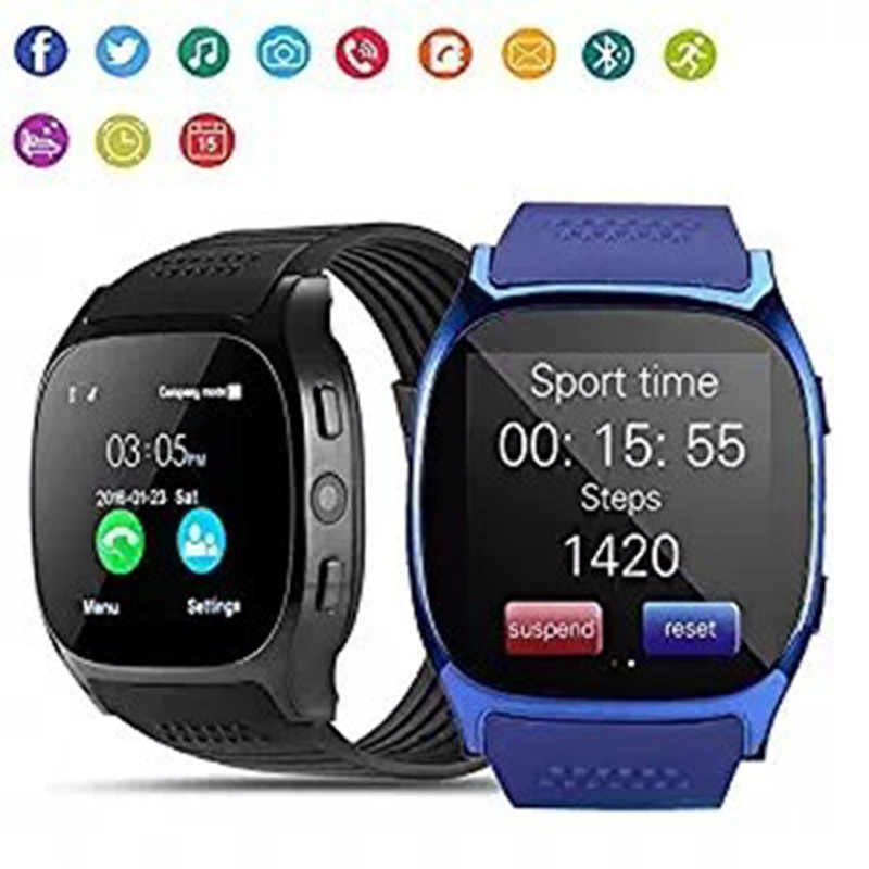 Pour Sony Xperia XZ Z5 Z3 + Z3 Z2 Z1 L15 Bluetooth montre intelligente Support de téléphone 2G SIM TF carte cadran appel Fitness Tracker Smartwatch