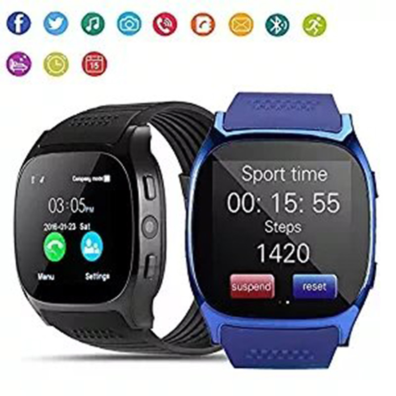 Für Sony Xperia XZ Z5 Z3 + Z3 Z2 Z1 L15 Bluetooth Smart Uhr Telefon Unterstützung 2g SIM TF karte Zifferblatt Call Fitness Tracker Smartwatch