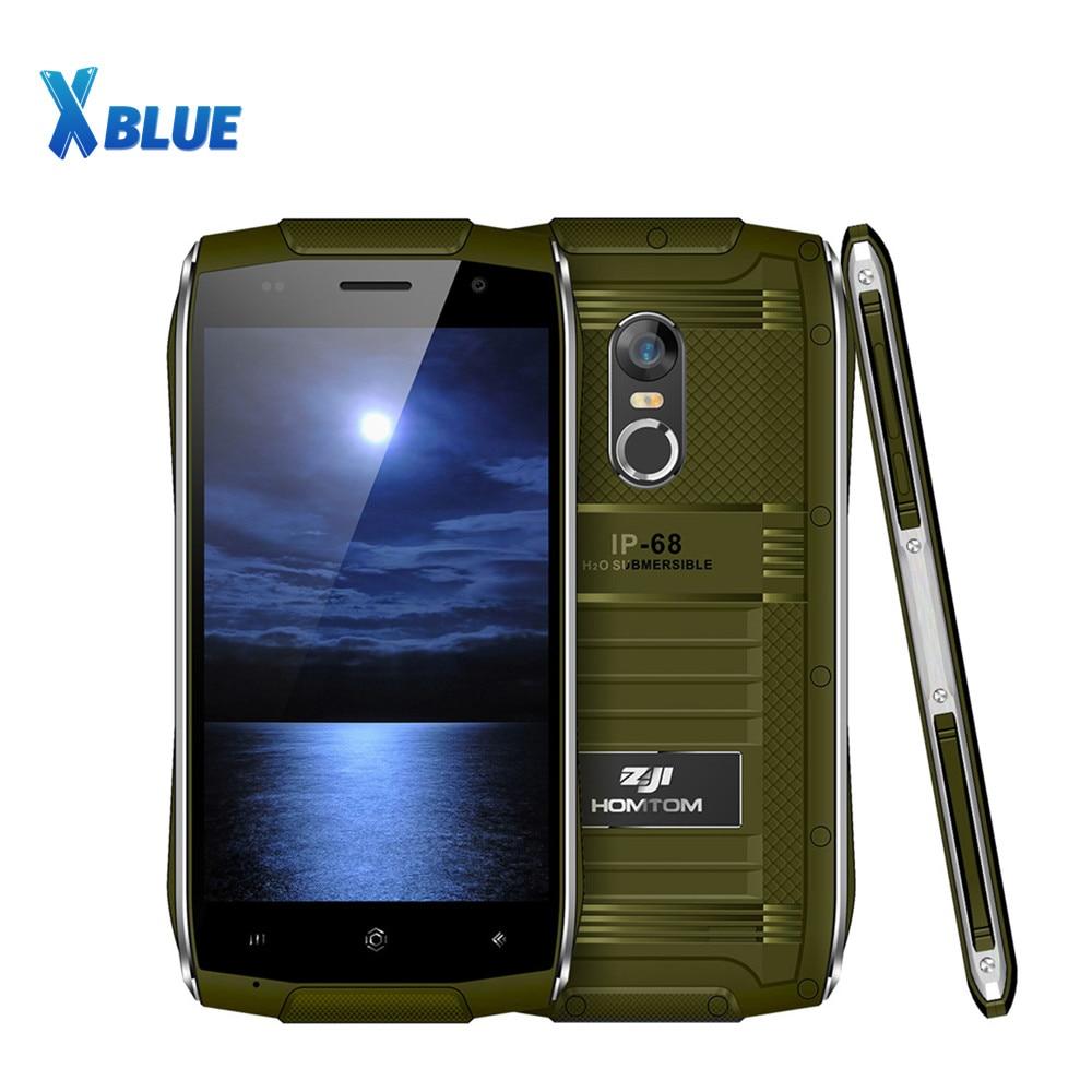"HOMTOM ZOJI Z6 トライプルーフスマートフォン 3 グラム 4.7 ""1280*720 ピクセル MTK6580 クアッドコアの Android 6.0 1 ギガバイト + 8 ギガバイト 3000 mah バッテリ IP68 携帯電話  グループ上の 携帯電話 & 電気通信 からの 携帯電話 の中 1"