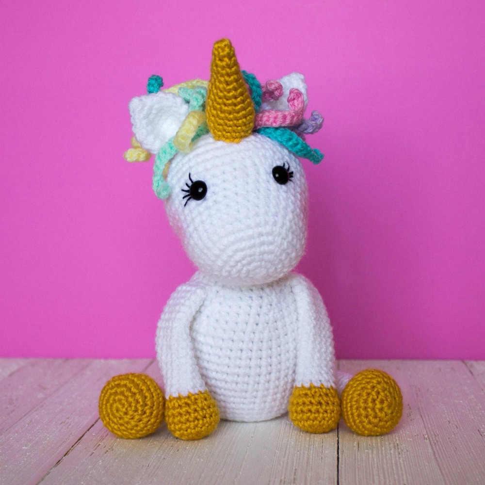 Crochet Unicorn Mermaid Amigurumi - Free Pattern - DIY 4 EVER | 1000x1000