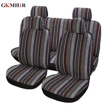 9pcs/ Set Car Seat Covers Full Automobile Protection Cover Universal Vehicle Accessories Car-Styling