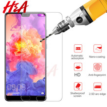 Tempered Glass For Huawei P20 P10 Lite Glass Huawei P20 Pro P10 Plus Screen Protector For Huawei P9 Lite 2017 Protective Glass(China)