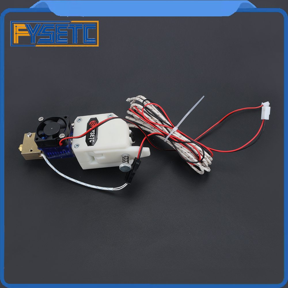 BMG EXTRUDER H59 VOLCANO HOTEND MK8 Bowden Extruder Dual Drive Extruder With PT100 Sensor For I3 Wanhao D9 Creality CR10 Ender 3 цена