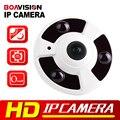 720 P 1080 P Cámara IP (POE) Onvif 5MP Panorámica de ojo de Pez Lente de INFRARROJOS de Visión Nocturna HD de Seguridad CCTV Cámara de 2MP Cámara 360 Grados de Vista P2P XMEye