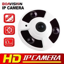 720P 1080P IP Camera (POE) Onvif Fisheye Panorama 5MP Lens IR Night Vision HD Security CCTV Camera 2MP 360 Degree View P2P XMEye