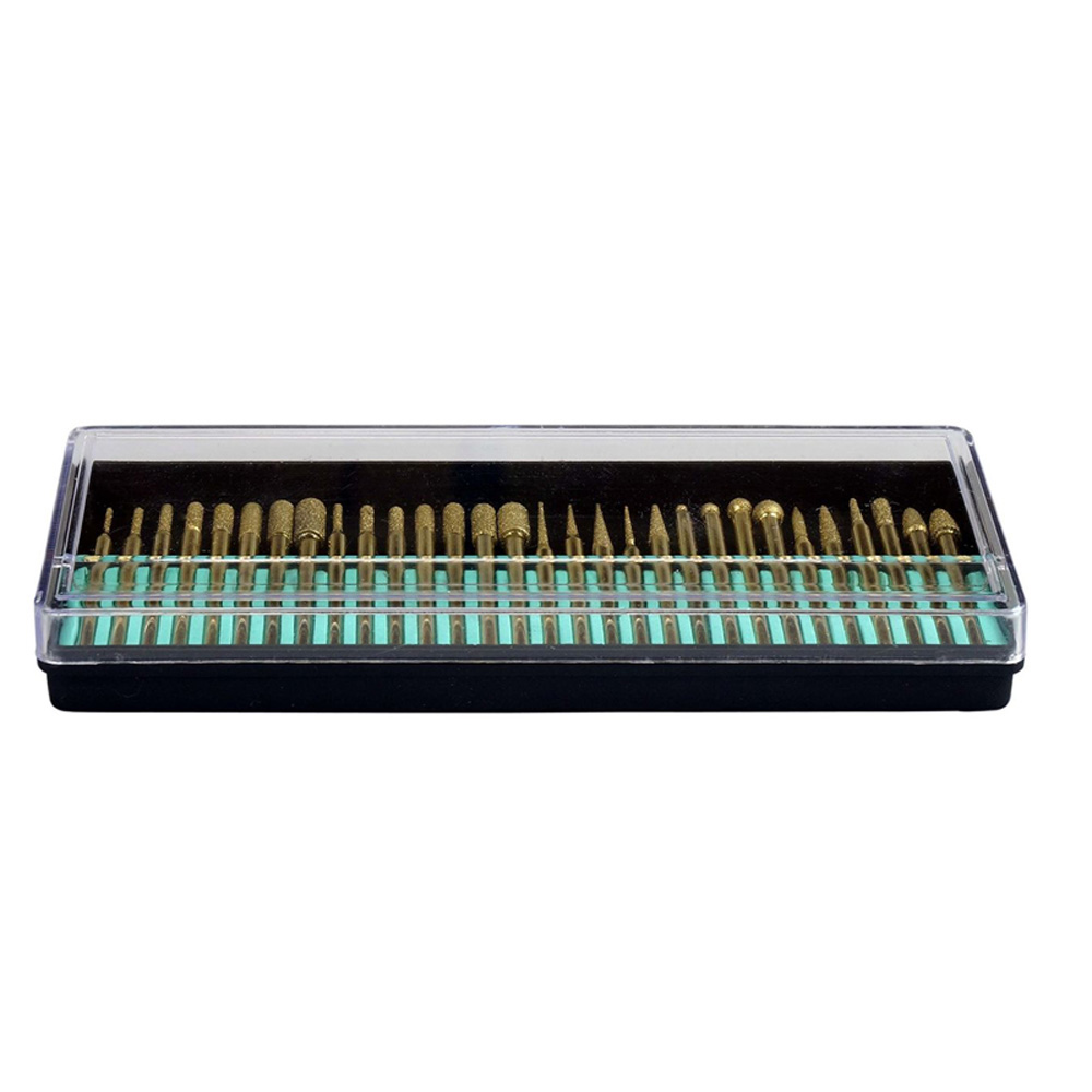 6*3mm Diamond Bullet Taper Grinding Drill DREMEL Rotary Tool Glass Jade Marble