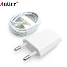 Antirr Voor iphone 4 Kabel 30 pin Charger Cable & 5V 1A AC Travel Wall Power Charger Adapter Voor iphone 4 4s iPad 2 3