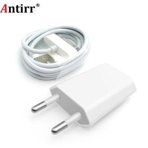 Image 1 - Antirr iphone 4 用ケーブル 30 ピン充電ケーブル & 5V 1A AC トラベル壁の電源充電アダプタ iphone 4 4s iPad 2 3