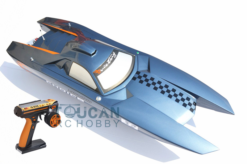 G30K ARTR-RC Fiberglass Gasoline RC Racing boat 30CC Engine RadioSys Servos Grey straight row 29cc piston for high speed 29cc gasoline engine zenoah parts rc boat