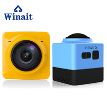 Super 360 VR Sport Camera 360*220 DEG Mini Helmet Action Camera WIFI Remote Control APP For Android&IOS 1280*1024 28fps Sport DV