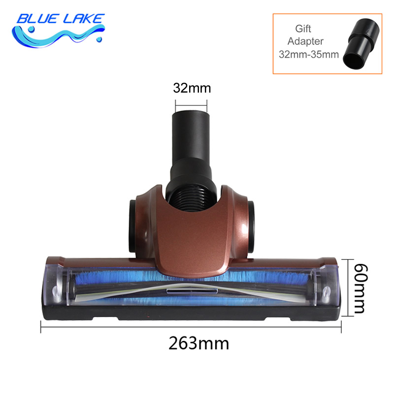 Vacuum cleaner Wind-driven brush,with wheel,Flexible joints,more convenient,for Bedding, sofas, curtains,Vacuum cleaner parts qaulity aluminum vacuum cleaner motor fan blade 112mm 8mm hole wind wheel impeller