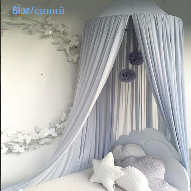 Cibinlik Klamboe Baby Bed Canopy Round Mosquito Netting Curtain For ...