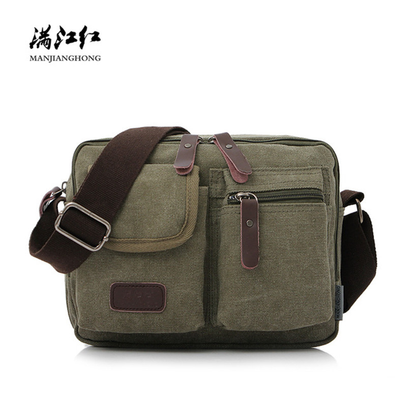 Fashion Canvas Crossbody Bag For