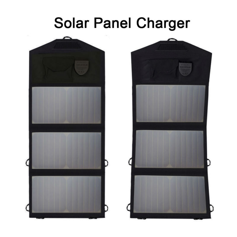 5V USB Solar Panel Phone Charger 12V Solar Car Battery Charger 18V Solar Laptop Charger for Hiking Fishing Climbing Camping more 14w solar charger dual usb output solar cell solar panel 12v ourdoor camping charger for laptop bluetooth headset ipod and more