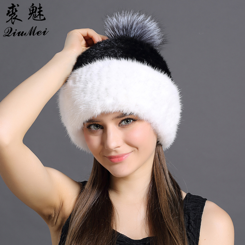 Natural Knitted Fold Women