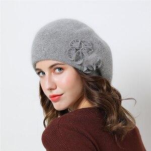 Image 4 - Chapeaux dhiver Double couche pour femmes