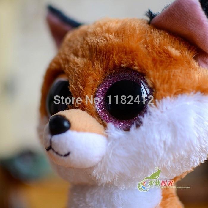 741b3203210 Ty Beanie Boos Slick Fox Plush Toy Cute Big Eyes Stuffed Animals 15cm 25cm  Medium Baby Kids Toys for Children Gifts. В избранное. gallery image.  Наведите ...