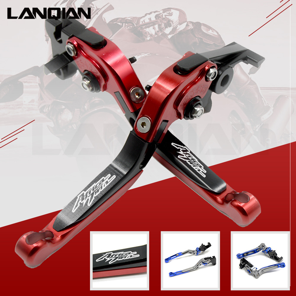 12 Colors For YAMAHA CRF1000L Africa Twin 2015-2018 CNC Motorcycle Adjustable Folding Brake Clutch Lever CRF 1000L CRF 1000 L 6 colors cnc adjustable motorcycle brake clutch levers for yamaha yzf r6 yzfr6 1999 2004 2005 2016 2017 logo yzf r6 lever