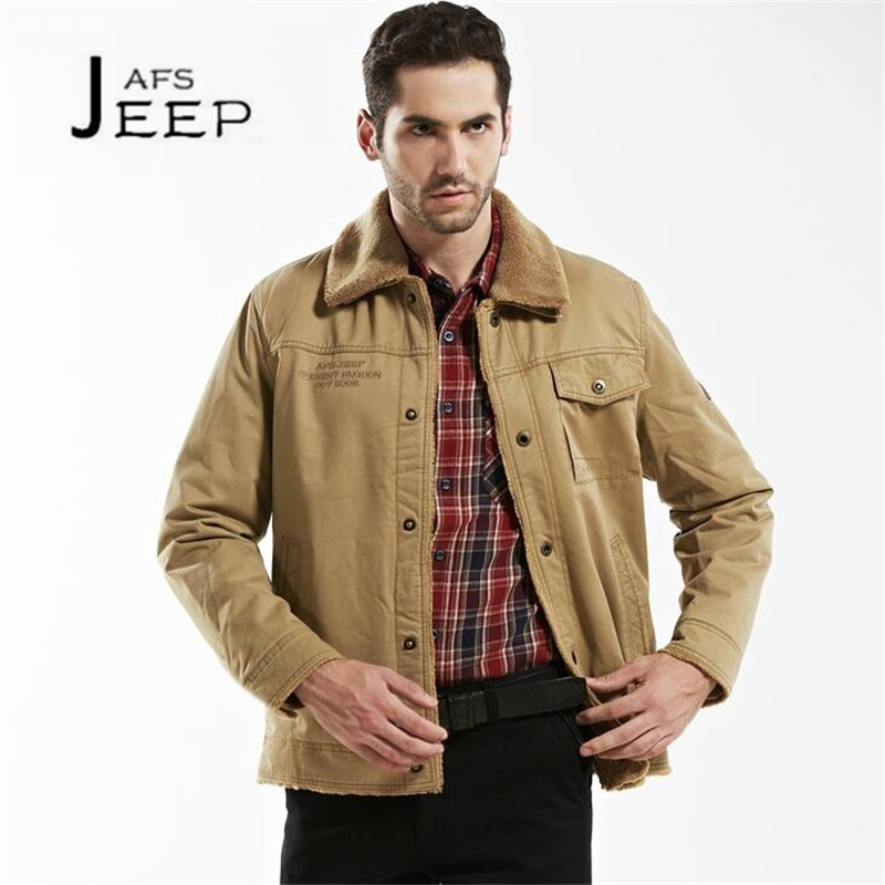 JI PU Big Fur Collar Detachable Winter Mans Short Cargo Coats,M to Size 4XL Solid cotton casaco masculino 2017 cashmere inne