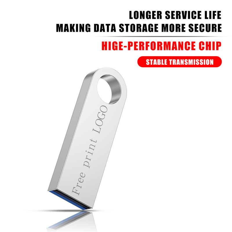Image 4 - New usb flash drive 3.0 metal high speed memory stick 32GB flash memory pen drive 128GB 64GB 16GB 8GB 4GB pendrive free shipping-in USB Flash Drives from Computer & Office