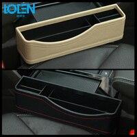 1PCS Car Interior Storage Accessories Auto Seat Central Armrest Organizer PU Leather Phone Wallet Coin Holder