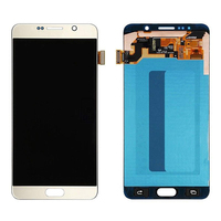 SUPER AMOLED LCD For Samsung Galaxy Note 5 N920A N9200 SM N920 N920 LCD Display Touch Screen Digitizer Assembly + Tools