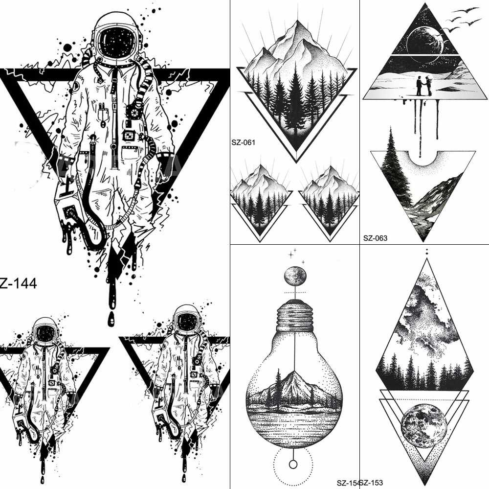 Detail Feedback Questions About Fanrui Black Triangle Tattoos