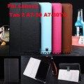 Ímã fique pu leather case capa para lenovo tab 2 a7-30 a7-30tc/a7 30 7 polegada tablet capa case
