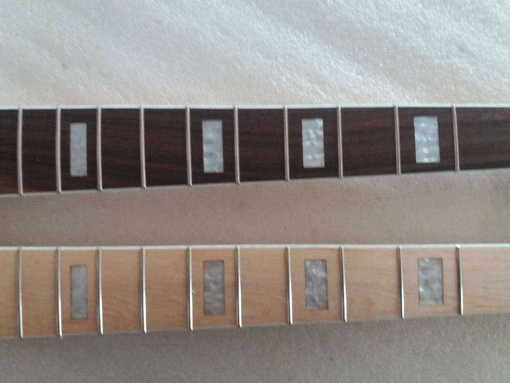 2 pcs érable 21 Fret JAZZ basse cou pour guitare basse électrique pièces de remplacement - 2
