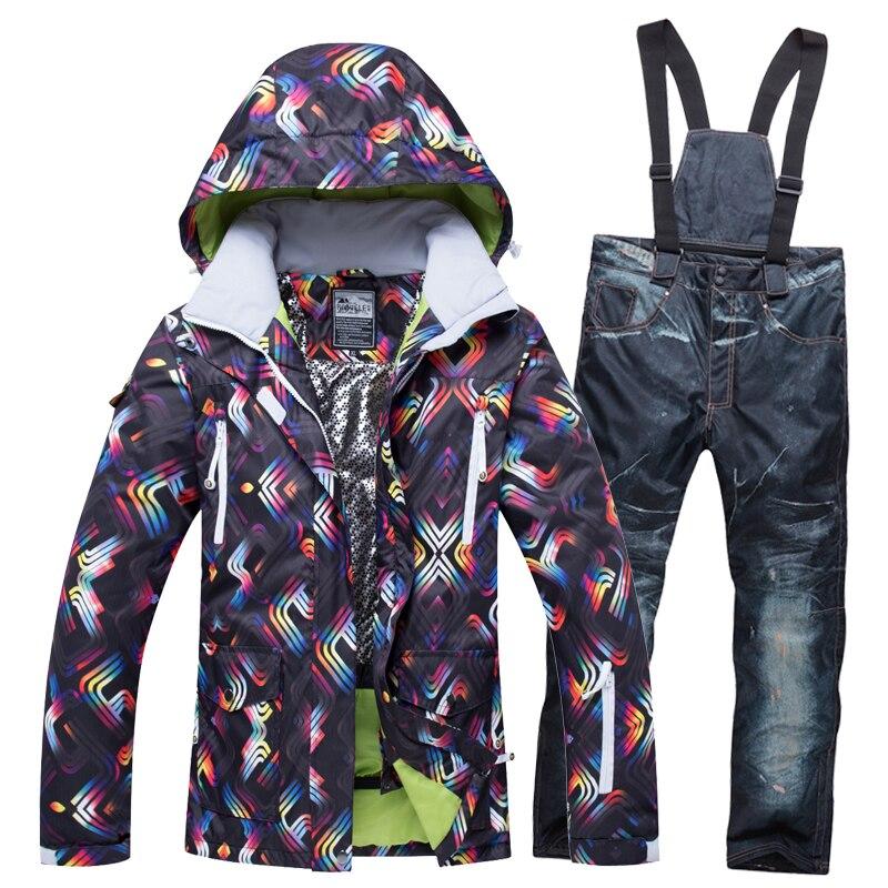2018 welivenise hiver neige Ski veste Ski costume chaud neige vêtements coupe-vent imperméable vêtements et pantalons Snowboard ets