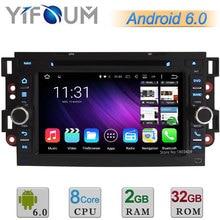 Octa Ядро 2 ГБ RAM 32 ГБ ROM 7 «Android 6 Dvd-плеер Автомобиля Радио Стерео GPS Для Chevrolet Epica Лова Aveo Captiva Тоска Искра Matiz