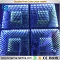 Free shipping LED Digital Dance Floor Light 50x50 3D DJ system ktv club dj led light disco floor