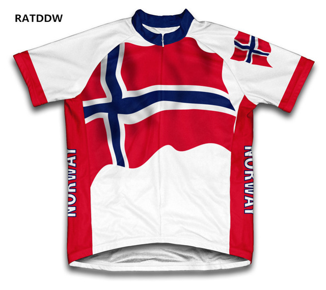 5fa7117ea3708 Noruega ciclismo clothing homens e das mulheres da bicicleta da bicicleta  de manga curta camisa de