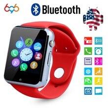 696 G11 G10D Bluetooth Relógio Inteligente relógio Pedômetro Esporte Com Câmera SIM Smartwatch Para Android ios telefone PK DZ09 A1 q18