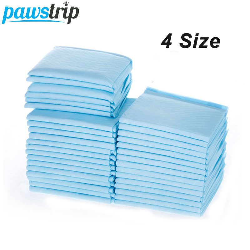 pawstrip 4 Size Pet Diaper Super Absorbent Dog Training Pee Pads Healthy Clean Dog Pads Disposable Dog Diaper puppy training pad