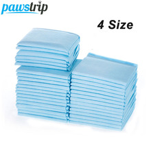 pawstrip 4 Size Pet Diaper Super Absorbent Dog Training Pee Pads Healthy Clean Disposable puppy training pad