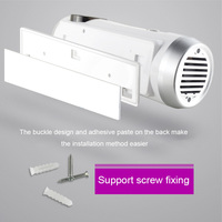 Tooth Brush Disinfection Case UV Light Wall Mounted Toothbrush Hanger Holder for Home LO88