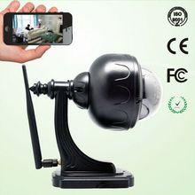 YobangSecurity 5XZoom Mini Outdoor Waterproof Dome Pan Tilt 1 3MP IR CUT IR LEDs Wireless Surveillance