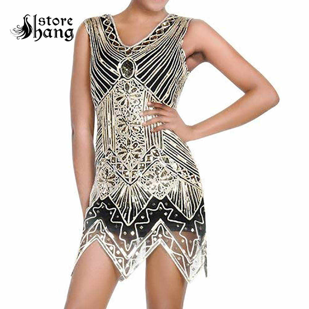 a0241894b92a1 Detail Feedback Questions about Women's Vintage Flapper Girl Dress ...
