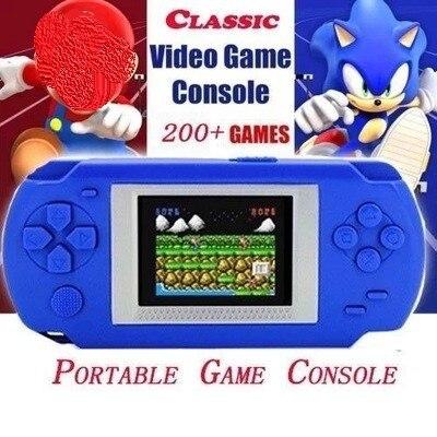 268 consola de jogos com 268 jogos diferentes 2 Polegada tela criança 502 tela colorida display handheld consolas jogo jogador
