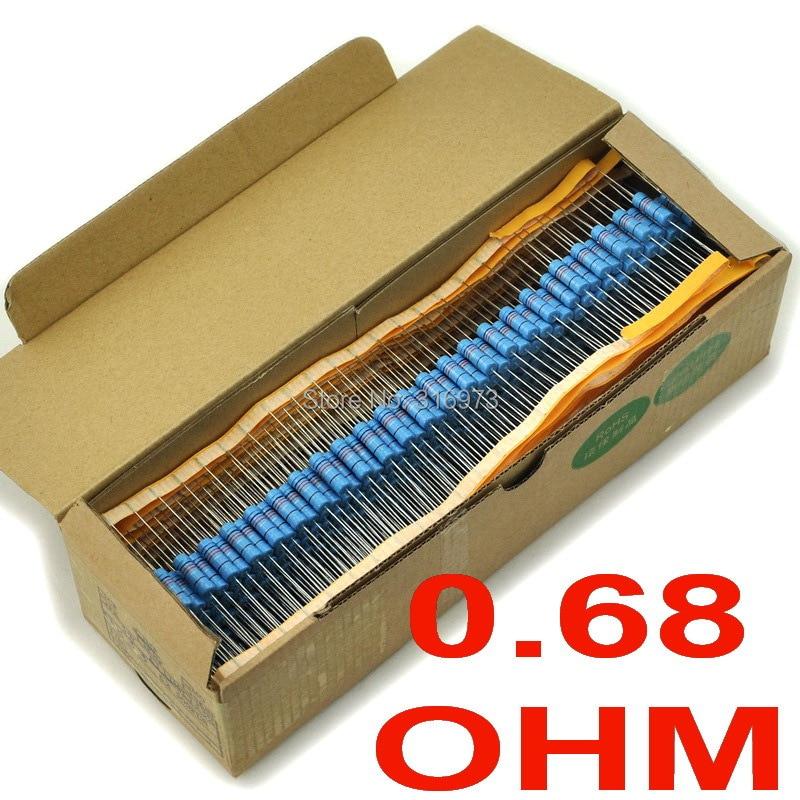 20pcs New 0.39 Ohm 0.39R 3W 1/% metal film resistor 3 watt