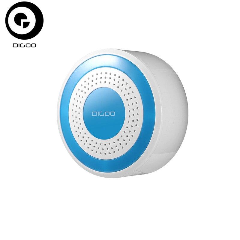 DIGOO DG-ROSA 433 MHz Sirene de Alarme Sem Fio DIY Standalone Multi-função Em Casa Sistemas De Alarme De Segurança do Host & Conjunto Sirene
