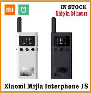 Image 1 - Originele Xiaomi Mijia Smart Walkie Smart Talkie Met Fm Radio Speaker Standby Smart Phone App Locatie Delen Snelle Team Talk nieuwe