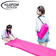 Fast Inflatable Boat New Shape Lazy Bag Air Sofa Outdoor Camping Laybag Hangout Lounger Beach Air