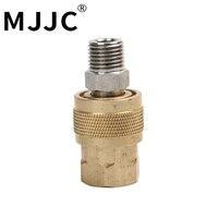 MJJC Marque avec Haute Qualité 1/4 pouces rapide connecteur et trimestre pouces adaptateur femelle partie pour mousse lance