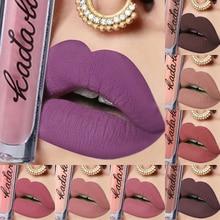 12 Colors Hot Fashion Waterproof Matte lipstick lip Gloss Makeup long lasting liquid lipgloss Cosmetic For Women Girl