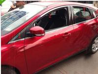 CHROME TOP WINDOW Molding Trim Line 8PCS For Ford FOCUS 2012 2013 5DR Hatchback