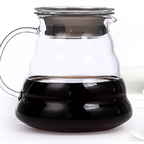 1PC Hot Coffee Dripper Hario Style Coffee Server Coffee Kettle 300ML 600ML