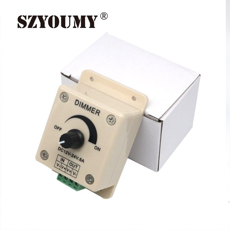 Stil; In Freundschaftlich Szyoumy Hohe Qualität 12 V 8a 96 Watt Led Streifen Licht Lampen Schalter Dimmer Helligkeitsregler Für Flexible Licht Modischer